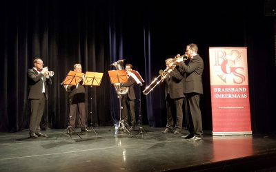 Brassband Smeermaas Cultureel ambassadeur Lanaken 2017-2018