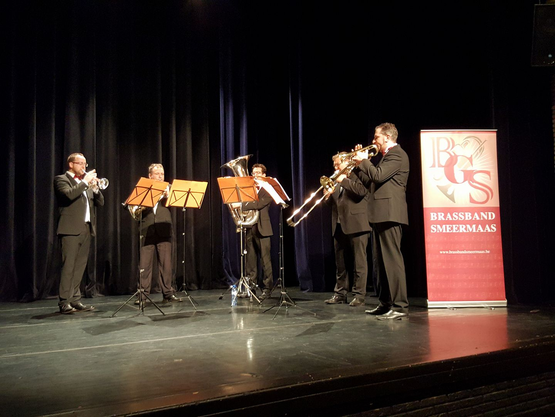 Ensemble Brassband de grensbewoners Smeermaas
